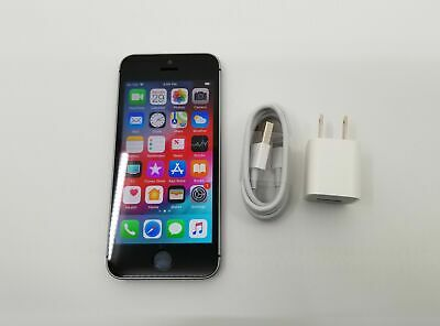 """Apple iPhone SE 32GB Space Gray A1723 Unlocked Good Condition """"B"""" Grade Tested"""