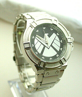 Marvel Comics Agents of SHIELD Logo Watch Mens New NOS  Box