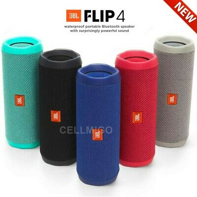 JBL Flip 4 Bluetooth Portable Stereo Speaker - 12Hr playtime - IPX7 Waterproof