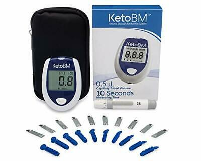 KetoBM Ketone Blood Meter Kit - Complete Monitoring System for Ketogenic Diet