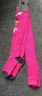BNWT Catimini Tights Abstract Print Age 7 - 8 Size 31/34