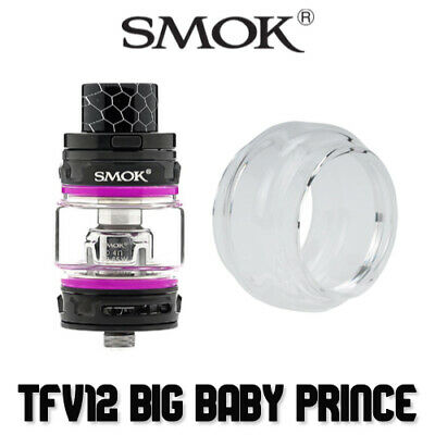 Smok Big Baby Prince Glass | Bubble Fatboy Bulb Extension Glasses Tfv12 Prince