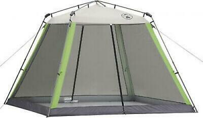 SCREEN HOUSE TENT w/ Floor Coleman Instant Canopy BBQ
