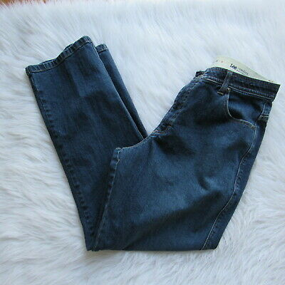 affordable price wholesale sales price reduced LEE COMFORT WAISTBAND Womens High Waist Jeans Size 14 M Dark ...