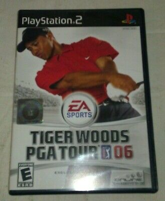 Tiger Woods PGA Tour 06 Golf (Sony PlayStation 2, 2005) PS2 CIB Complete