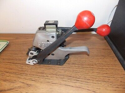 Signode Combination Strapping Tool Model AL-38 Size 3/8 Excellent