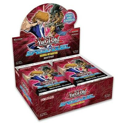 Yu-Gi-Oh! TCG: Speed Duel - Scars of Battle Booster Display (36)
