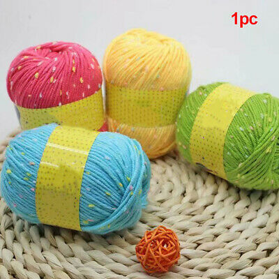 Sale 1Ballx50g Soft Warm Baby Yarn New Hand-dyed Wool Socks Scarf Knitting
