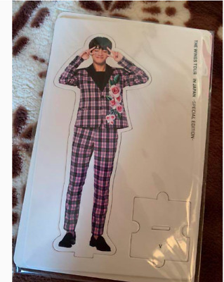 BTS WINGS TOUR Paper stand V Taehyung Version from Japan Army goods