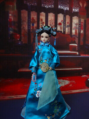 Tang Dynasty Barbie Kurhn Dolls Shaoyang Princess Outfit Chinese Costumes New