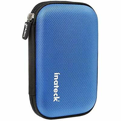 Portable Shockproof EVA Hard Drive Bags & Cases Carrying Shell With Zipper For