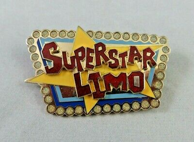 Disney Disneyland California Adventure Pin - Superstar Limo Logo