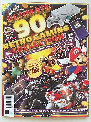 Retro Gamer ULTIMATE 90s RETRO GAMING COLLECTION - SF / Lemmings / Sonic / Mario