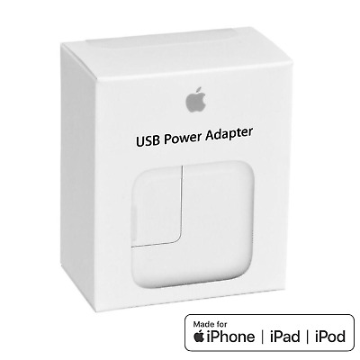 A1401 12W MAINS CHARGER PLUG USB CABLE For APPLE iPad 4 Mini Air 1 2 iPhone 6 7