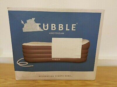 Tubble Royale Inflatable Bathtub Adult size Portable Home 255 Liter