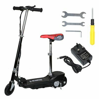 Kids Scooter Child Kick Flashing LED Light Up 3 Wheel Push Adjustable Folding