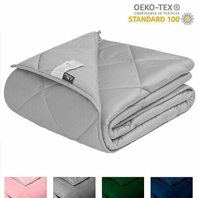 Queen Size Weighted Blanket 25 lbs 60''x80'' for Adults Heavy Blanket Deep Sleep