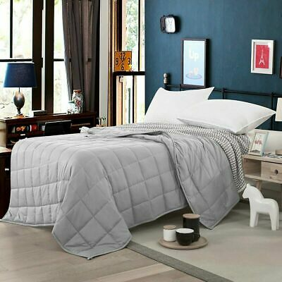 """Full Size Weighted Blanket 48''x 72"""" 20lbs Reduce Stress Promote Sleep for Adult"""