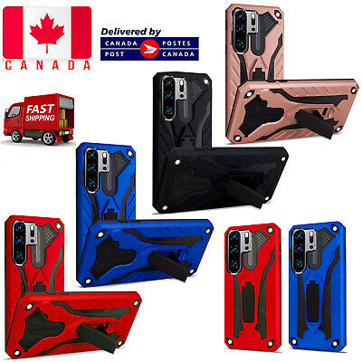 For Huawei P30 Lite Pro Heavy Duty Armour Builder Stand Shockproof Case Cover