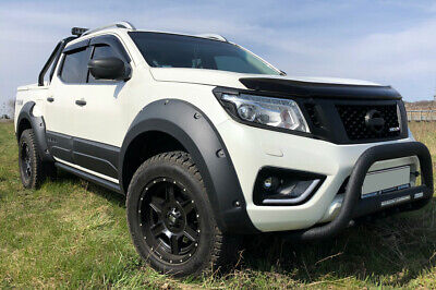 Fender Flare Wheel Arch Extensions for Nissan Navara NP300 with Add Blue