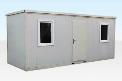 Large Flat Pack Office 6.5m x 2.4m (20ft x 8ft) Collapsible Building £4400+VAT