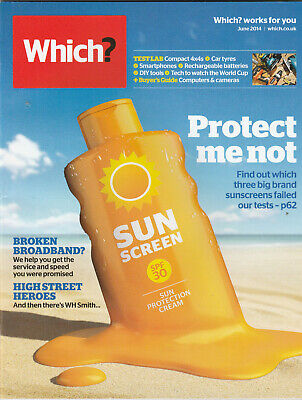WHICH? Magazine June 2014 - Protect Me Not