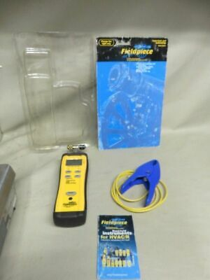Fieldpiece superheat and subcooling ac refrigeration meter for hvac technician