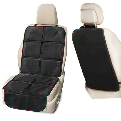 Durable Car Seat Protector Cover Organizer Padding+ Backseat Kick Mat Waterproof