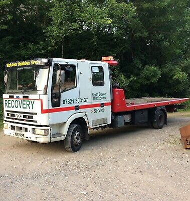 Iveco tilt and slide crew cab recovery truck 10t