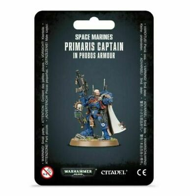 Warhammer 40k Space Marines Primaris Captain in Phobos Armor NEW