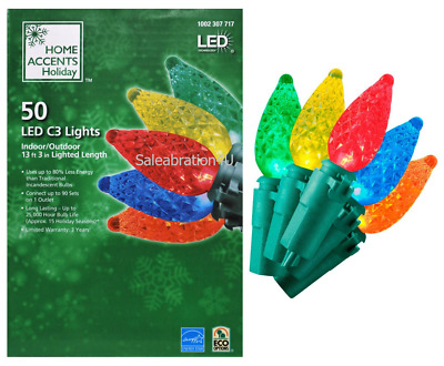 Patrick/'s Day//Christmas Mini Lights 120v Connect End to End Sienna 100 St