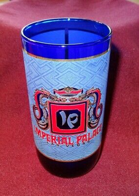 Vintage IMPERIAL PALACE HOTEL CASINO Drinking Glass 12oz