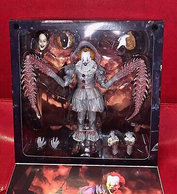 IT Pennywise Horror Movie Action Figure Statue Chapter 2 Limited Exclusive NECA