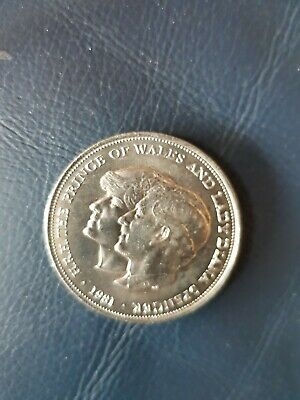 1981 Prince of Wales & Lady Dianna Wedding Commemorative Coin