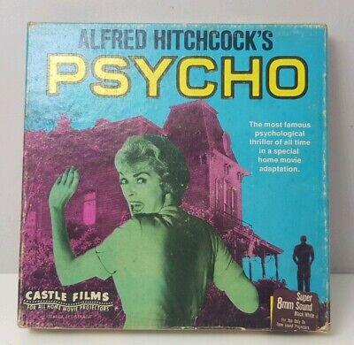 Alfred Hitchcock Psycho Vintage 8mm Super8 Movie