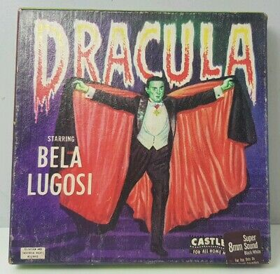 DRACULA Staring Bela Lugosi Vintage 8mm Super8 Movie