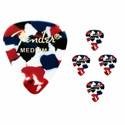 Fender Premium Celluloid Guitar Picks 351 Confetti Medium - 5 Picks