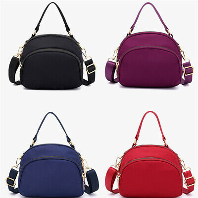 Ladies Cross Body Bag  Shoulder Casual Travel Nylon Womens Quality Handbag JJ