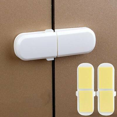 Toddler Baby Kid Child Safety Lock Proof Cabinet Fridge Cupboard Door JJ