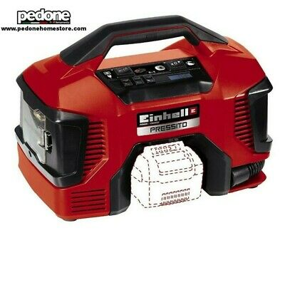 Einhell 4020460 Compressore Portatile Pressito 11 Bar Corrente E Batteria Power