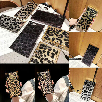 Leopard Luxury TPU Hard Case for iPhone XR XS MAX 8 Plus Shockproof Cover Shell