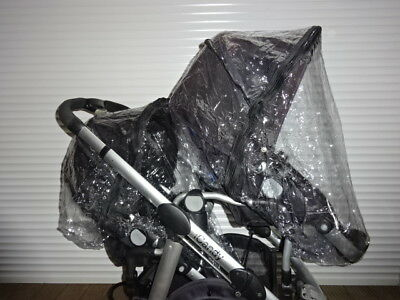 2x RAINCOVER Zipped to fit iCandy Peach 1,2,3 Seats or Carrycots Double Twin