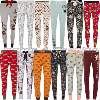 Ladies Disney Leggings Pyjama Harry Potter Women's Pajama Bottoms Primark