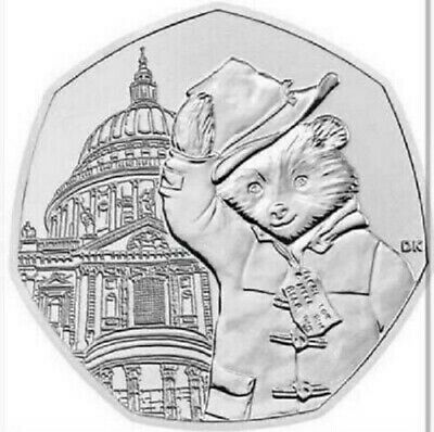 **LAST BATCH***PADDINGTON 2019 ST PAULS 50P  from sealed bags SEE NOTES BELOW