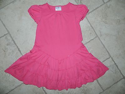 Hanna Andersson Girl's Pink Ruffle Dress US 5-6X (Age 4-6 yr)