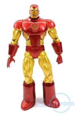 "Marvel Legends 6"" Inch Epic Heroes Series Retro Classic Iron Man Loose Complete"