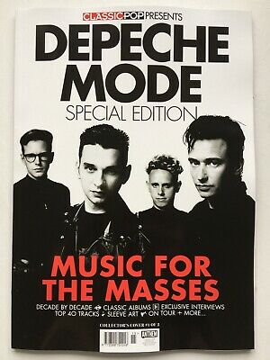 Classic Pop Presents: DEPECHE MODE - SPECIAL EDITION   (Collector's Cover #1/2)