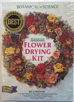 Microwaveable Flower Drying Kit, Botanical - Science Fun For The Whole Family