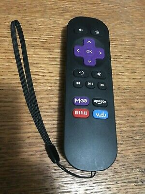 New IR Replaced Remote for ROKU 1 2 3 4 LT HD XD XS MGO Amazon Netflix Vudu Key