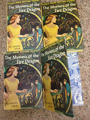 1 (one) early PC copy Nancy Drew unrevised text #38 Mystery of the Fire Dragon
